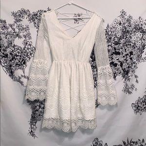 Romania Dress from Xenia Boutique (White XS)